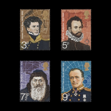 Polar Explorers commemorative set