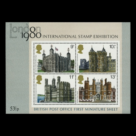 Historic Buildings miniature sheet