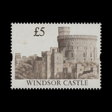 £5 Windsor Castle missing gold