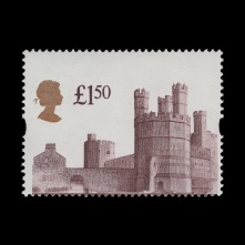£1.50 Caernarfon Castle design shift